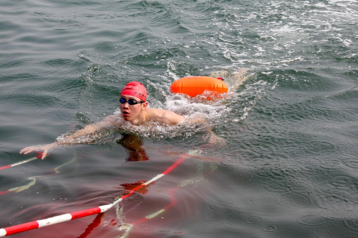 2013横渡刘公岛海湾全国游泳邀请赛