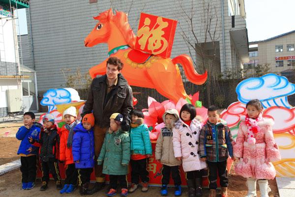威海银座大地幼儿园让孩子感受传