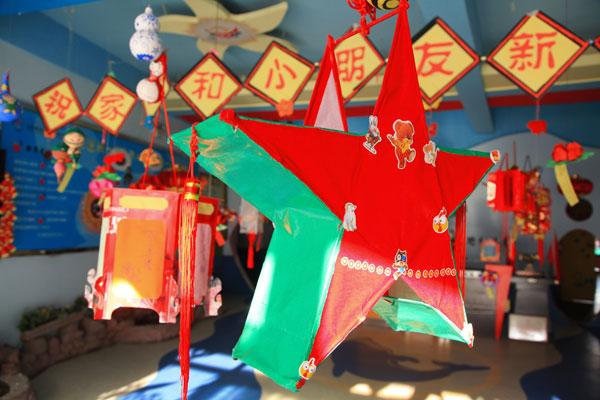 威海银座大地幼儿园让孩子感受传统文化