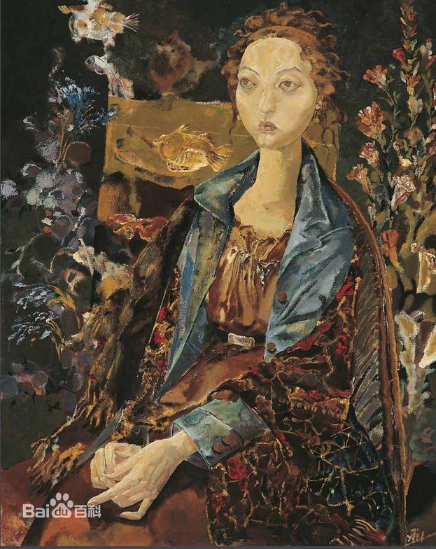 油画系,毕业创作获得中央美术学院优秀奖和日本冈松家族奖学金.图片