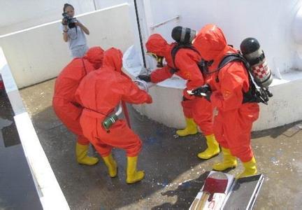 化学危险品泄漏演练