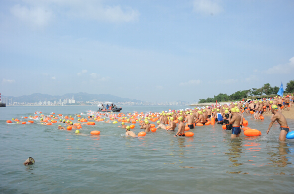 2014年横渡刘公岛全国邀请赛