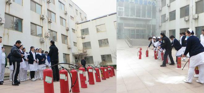 威海市立医院南院区举办消防大演练
