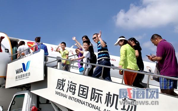威海国际机场新增直飞满洲里和天津的航班