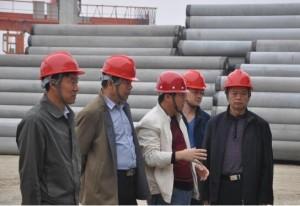 市政府安全生产委员会督查组到汪疃镇检查指导安全生产工作