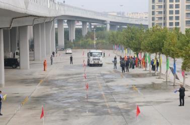 环翠区环卫局庆祝山东省第二十四届环卫工人节