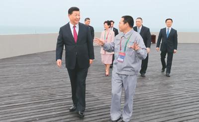 中国开放的大门不会关闭,只会越开越大
