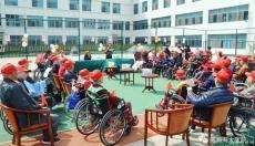 欢乐齐动手 有爱一家亲--海大护理院开展趣味游戏互动活动
