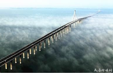 青岛胶州湾大桥飞架东西 荣登全球最棒的11座桥梁