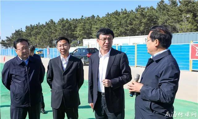 市委书记王鲁明现场办公推进新城重点项目建设