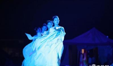 《梦回南海》大型实景沙雕光影秀闭幕