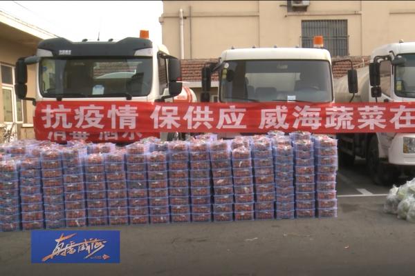 助力疫情防控,市蔬菜公司为一线环卫工人捐赠新鲜果蔬