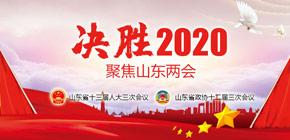 决胜2020――聚焦山东两会