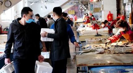 生猛海鲜正涌来,威海水产市场人气渐旺!