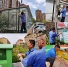 发挥党员先锋作用,文明城市行动有我——市水务集团积极开展文明创城志愿行动