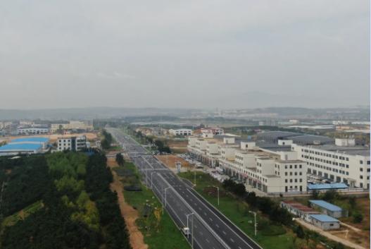 畅通城市血脉 文登经济开发区加快推进道路提升工程建设